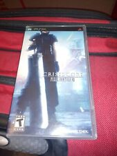 Crisis Core: Final Fantasy Vii (Sony Psp, 2008) Complete Cib! Read Description
