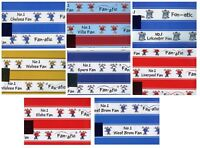NO 1 FOOTBALL FAN'S  2 SHEETS OF GIFT WRAP WRAPPING PAPER + 1 TAG 1STP&P