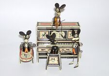 Early Marx Merry Maker Wind Up Tin Toy Lithographed Mouse Band (DAKOTApaul)