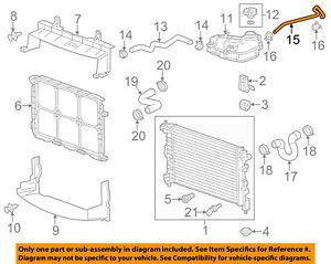 Chevrolet GM OEM 12-18 Sonic 1.8L-L4 Radiator-Breather Tube 96983740