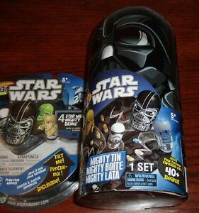 Star Wars Mighty Beanz Darth Vader Case Plus 1 Random 4 Pack Mighty Beanz NEW