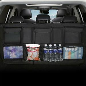 Universal Car Trunk Storage Cargo Net Bag Car Seat Oxford Mesh Organizer Holder
