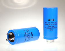 50uf+50uf-500vdc ARS Dual Blue Capacitor Replaces Marshall F&T JJ LCR HiWatt VOX