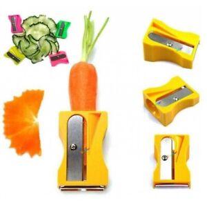 Sbuccia Verdure Tempera Carote Zucchine Pela Taglia Decorazione Affetta Verdure