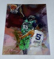 Tacko Fall Boston Celtics Artistic Sketch Card SP #9/50 Edward Vela Signed Auto