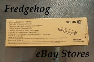 GENUINE XEROX YELLOW TONER CARTRIDGE 106R03537 FOR VERSALINK C400 & C405 - NEW