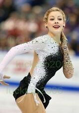 2018 new style Girl Figure skating Ice Skating Competition Dress Twirling #146