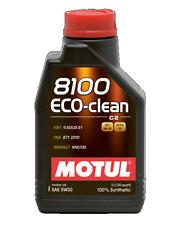 MOTUL OLIO 8100 ECO CLEAN 5W30 C2 LUBRIFICANTE MOTORE SINTETICO 1 LT EURO 4/5