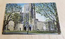 Vintage postcard Harvey S Firestone Memorial Library Princeton University Used