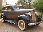 1937 Packard Model 115-C  Beautiful Two-Tone 1937 Packard Sedan