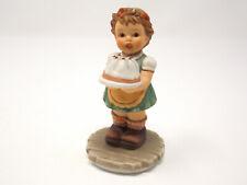 """Goebel Make A Wish"" Figurine - Girl Holding a Birthday Cake - Bh-130 - 2000"