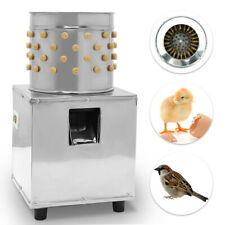 Stainless Steel Poultry Plucking Machine Chicken Quail Birds Feather Plucker