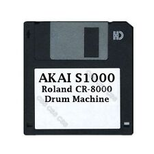 Akai S1000 Floppy Disk Roland CR-8000 Drum Machine