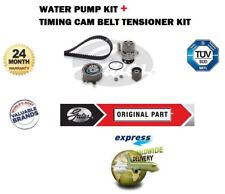 VW Passat 1.9 Tdi 8V 2005-2008 Gates Kit Courroie Distribution + Pompe Eau