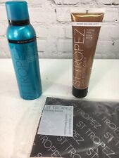 St Tropez Self Tanner Set of 3 Sunless Tanning QVC Express Bronze