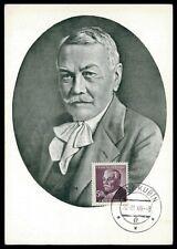 CSSR MK 1949 Hviezdoslav writer maximum carta carte MAXIMUM CARD MC cm h0384