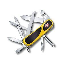 Victorinox Swiss Army Knife, EvoGrip S18 Yellow / Black 2.4913.SC8US, New In Box