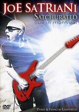 JOE SATRIANI Satchurated Live In Montreal 2DVD BRAND NEW NTSC Region 0