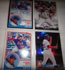 DOMINIC SMITH, METS, 4-2018 SUPER SPECIAL ROOKIE CARDS