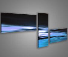 Quadri moderni astratti 180 x 70 stampe su tela canvas con telaio MIX-S_143