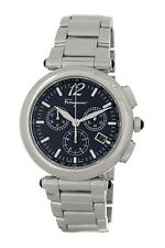 New Salvatore Ferragamo Ferragamo Men's Men's Poema Black Dial Chronograph Watch