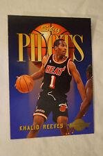 NBA CARD - Sky Box - Sky Pilots Series - Khalid Reeves - Miami Heat.