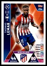 Match Attax Champions League 2018/19 - Thomas Lemar Athletico Madrid No.32