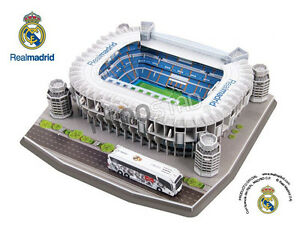 Official Real Madrid Estadio Santiago Bernabeu Stadium 3D Puzzle Model