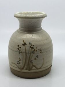 Lovely Little Kelbrook Pottery Vase - 9.25 Cm Tall