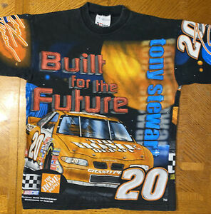 Tony Stewart Home Depot Pontiac Chase Single Stitched All Over Print T-Shirt M