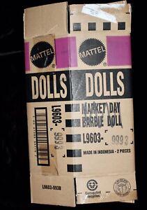 Market Day Barbie Doll Silkstone BFMC SHIPPER BOX ONLY RARE HTF L9603