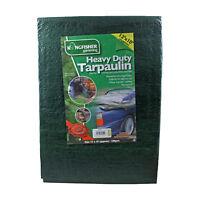 Kingfisher Gardening 5.4m(18ft)x3.6m(12ft) Dark Green Heavy Duty Tarpaulin Cover