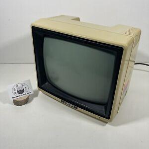 "Rare Japanese Kaga Denshi 12"" Green Screen Monitor Retro Gaming KG-12NB-N *READ"