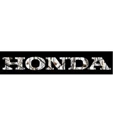 16 17 18 19 Honda Pioneer 1000-3 Tailgate Lettering Reflective Eagle Flag
