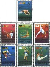 Mongolië 1023-1029 gestempeld 1976 Kampioenen `76