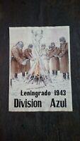 """"""" MIRANDA DE EBRO """" 1943 CARTILLA DE RACIONAMIENTO Acuarela Papel antiguo"""