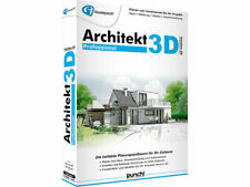 Avanquest Architekt 3D Version 20 Professional inkl. Gartenplaner & E-Books DVD
