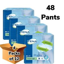 TENA Pants Super Medium 4 Packs Of 12 Incontinence Pants Adult Nappies