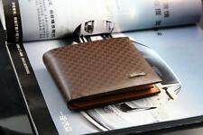 Men's Genuine Leather Wallet , Brown Wallet ,