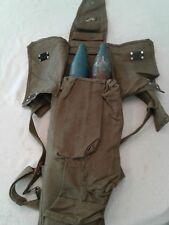 RPG 7 Backpack Rocket Case 2 cell with backpack straps Unissued Excellent