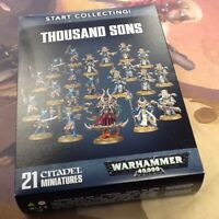 40K Warhammer Thousand Sons Start Collecting NIB