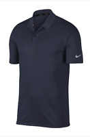 Nike Dri-Fit Victory Obsidian Blue Men's Golf Polo Shirt 891881 New