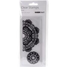 DOILY - Kaisercraft Texture Clear Stamp