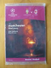 2003 Champions League Final AC MILAN v JUVENTUS Mint Sealed Programme