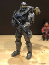 Mcfarlane Halo 3 Reach Video Game Action Figure Grey Spartan Recon Jetpack Rare