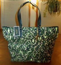 JUICY COUTURE MULTI-COLOR CAMO PRINTED CANVAS N/S TOTE W/JC FOB -YHRUS107-BNWT