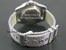 STEEL SHARK Bracelet Montre Maille Bracelet pour Breitling Navitimer Bentley GT 22 mm
