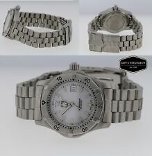 TAG HEUER 2000 Series Ladies White Dial 28mm WK1311-0 Watch