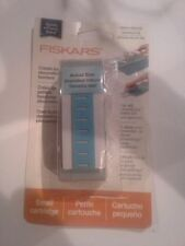 Fiskars Interchangeable one border Paper punch - Leave it to weaver bent package