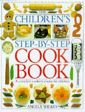 Children's Step-by-Step Cookbook by Angela Wilkes | Hardcover Book | 97807513512